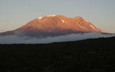 Mt. Kilimanjaro Sunset From Umbwe Route - Tanzania