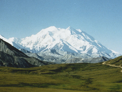 Mt. McKinley From Denali Preserve