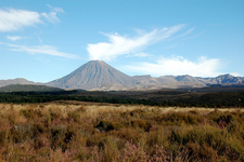 Mt. Ngauruhoe - Tongariro National Park - New Zealand