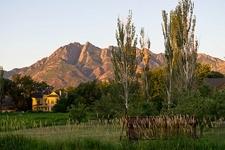 Mt. Olympus From Wheeler Historic Farm UT
