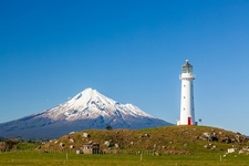 Mt. Taranaki From Cape Egmont - North Island NZ