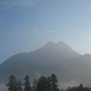 Mt Yufu At Morning