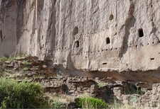 Multistory Dwellings At Bandelier