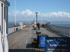 Mumbles Pier Walkway