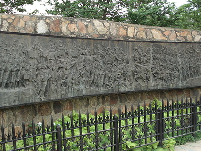 Mural Of Second Battle Of Panipat
