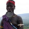 Murzi Woman In Ethiopia