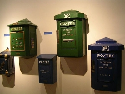 Exhibition Of French Post Boxes