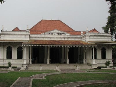 The Front View Of The Textile Museum