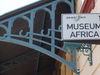 Sign At The Entrance To The Museum Africa