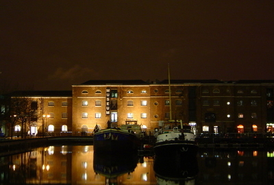 The Museum Of London Docklands At Night