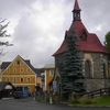 Museum Of Glass And Chapel In Harrachov