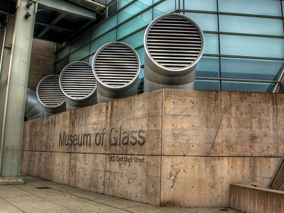 Museum Of Glass Sign - Tacoma WA