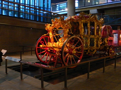 Lord Mayor's Coach On Display In The Museum