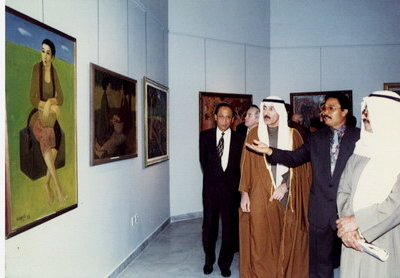 Museum Rudana Held A Painting Exhibition In Kuwait