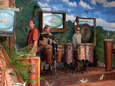 Musical Show In Island