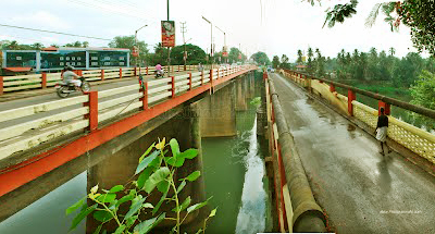 Muvattupuzha Old And New Bridges