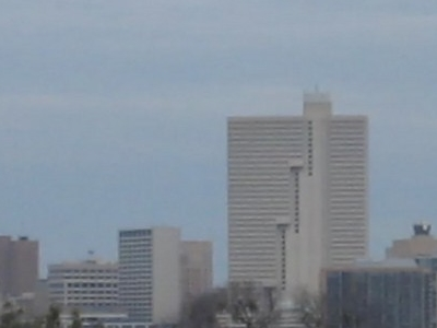 Fort  Worth Skyline From  Cultural  District