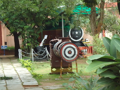 Mysore Rail Museum Boiler Of Train