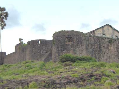 Madh Fort Closeup