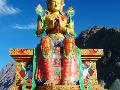 Maitreya  Buddha     Nubra