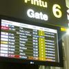 Flight Information Screen At UPG