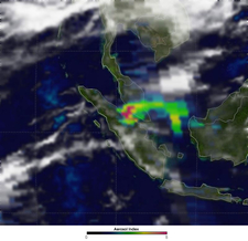 Malaysian Haze 2 0 0 5 Aerosol Index