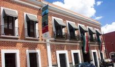 Facade Of The Amparo Museum