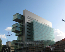 Manchester Civil Justice Centre From Bridge Street