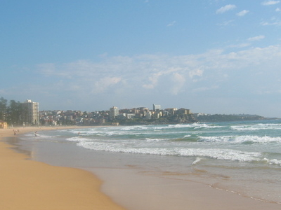 Manly Beach Looking North