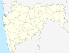 Map Of Maharashtra160showing Location Of Mahur