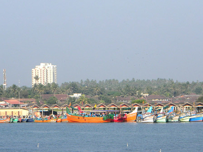 Mappila Bay From Kannur Fort