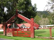 Maori Marae Along Whanganui River