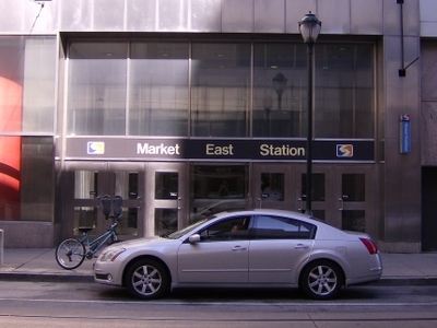 Market  East Entrance