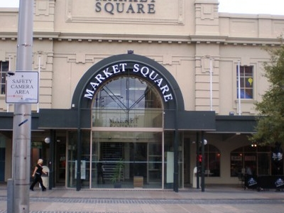 Entrance To Market Square From Little Malop Street