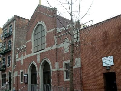 Street Facade Of Church