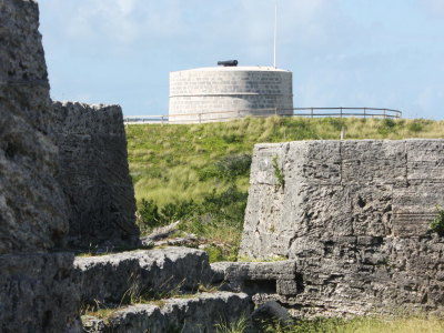 Martello Tower Seen From Ferry Island Fort