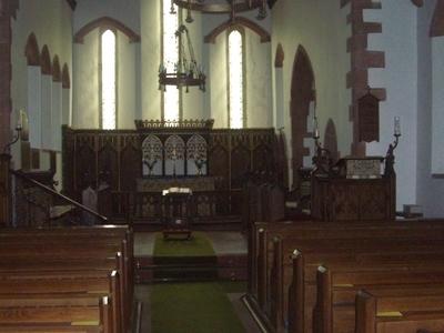 Martindale New Church Interior
