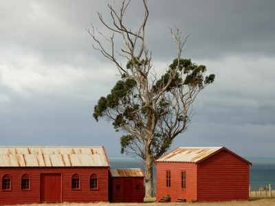 Farm Buildings From The 1840s