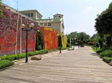Ma Wan Park Rainbow Wall