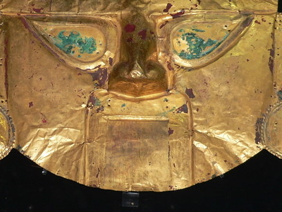 Golden Mask Of The Sican Culture