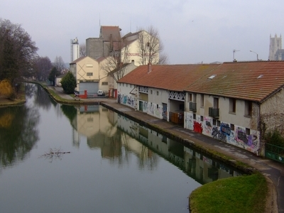 The Canal At Meaux
