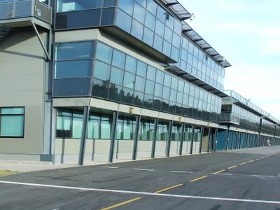 Melbourne  Grand  Prix  Circuit Pit Building
