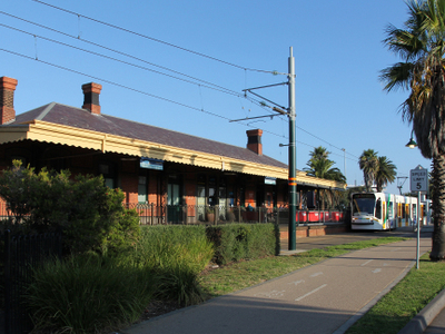 Port Melbourne Railway Station