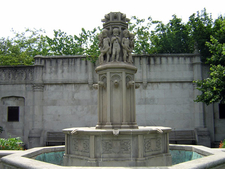 The Fountain In Mellon Park