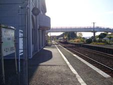 Platforms And Tracks Of Station