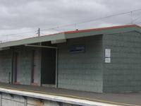Merlynston la estación de tren