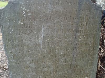 Merrion  Cemetery  2 C  Prince Of  Wales  Packet  Memorial