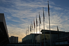 Moscone Center At Sunset