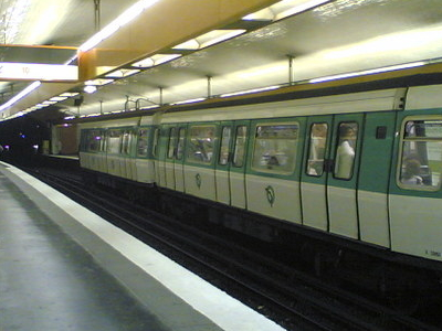 Line 7 Platforms At Jussieu