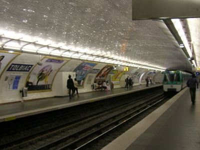 Line 7 Platforms At Tolbiac